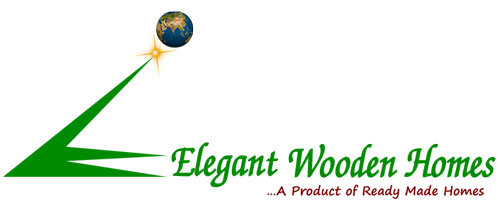 Elegant wooden homes Main Logo