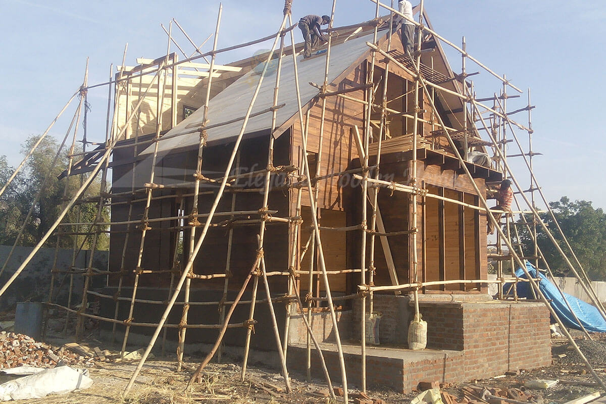 quality wooden homes in India