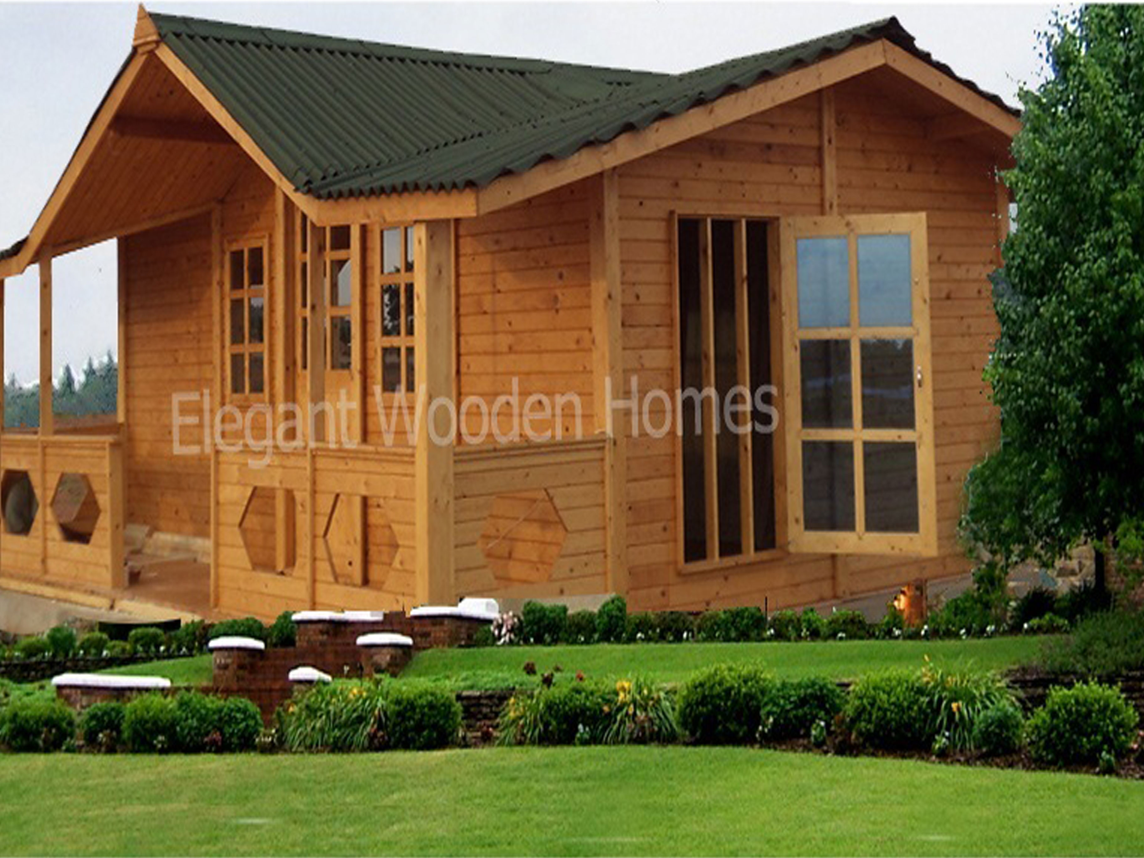 wooden homes in India